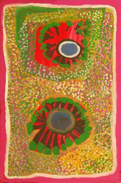 Jukuna Mona Chuguna, 'Ngatarrngatarrjarti & Yirrkilijarti- Two Jumu', 2010