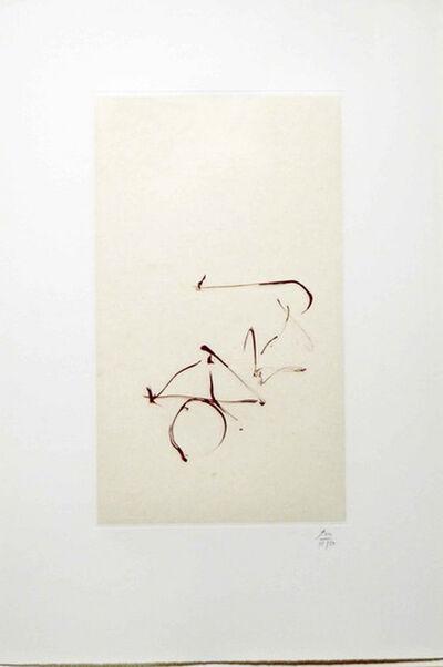 Robert Motherwell, 'Return, from Three Poems by Octavio Paz', 1988