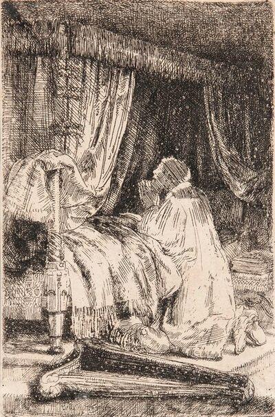 Rembrandt van Rijn, 'David at Prayer'