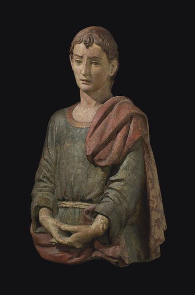 Attributed to Agnolo Di Polo, 'Saint John the Baptist', Late 15th century