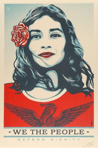 Shepard Fairey (OBEY), 'We the People, (three works)', 2017