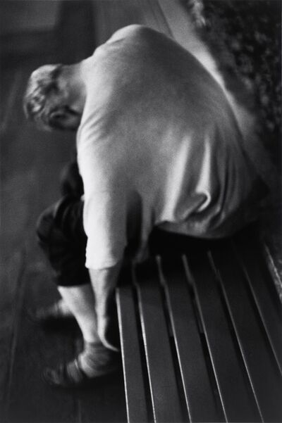 Louis Stettner, 'Nighttime, Man Sleeping', 2005
