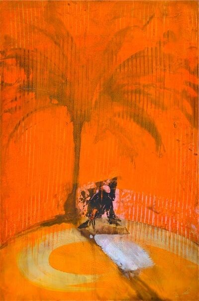 Richard Allen, 'Orange Palm Shadow Charmer', 2015