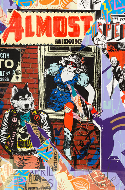 FAILE, 'Eastern Suspenso', 2016