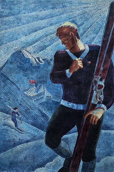 Anatoly Gankevich, '«Skier»', 2019