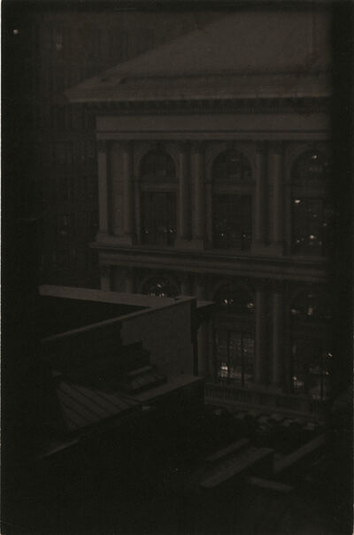 Ira Martin, 'Corner View of a Classical Building, New York', ca. 1923
