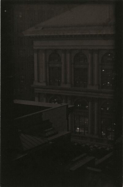 Ira Martin, 'Corner View of a Classical Building, New York', ca. 1923