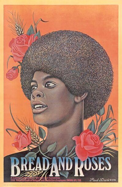 Paul Davis, 'Bread and Roses', 1978