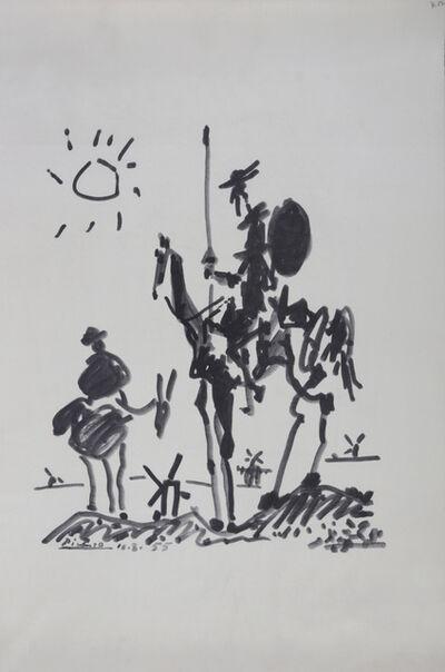 Pablo Picasso, 'Don Quixote'