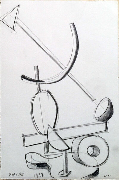 Peter Shire, 'Untitled (Drawing for a solo sculpture exhibition at the David Lawrence Gallery 1992)', 1992