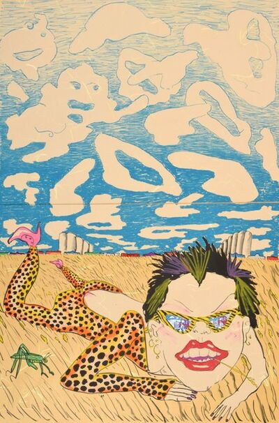 Red Grooms, 'Lorna Doone', 1980