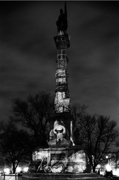 Krzysztof Wodiczko, 'The Homeless Projection 2. Soldiers and Sailors Civil War Memorial, Boston', 1986-2010
