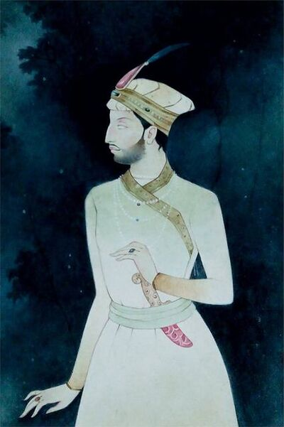 "Mintu Naiya, 'King, Wash on Paper by Contemporary Artist ""In Stock""', 2010-2019"