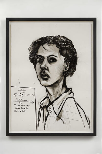 Nicole Eisenman, 'Untitled (Self-Portrait)', 1994