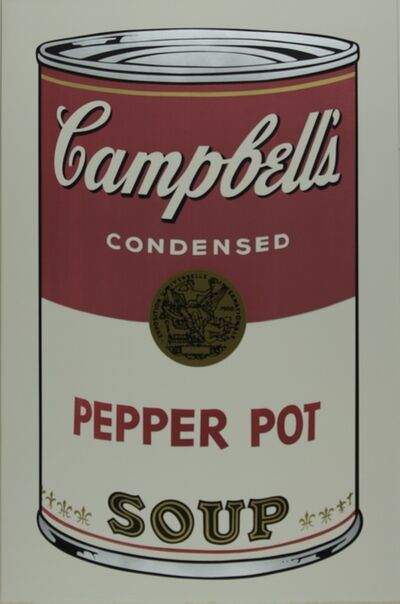 Andy Warhol, 'Campbell's Soup I, Pepper Pot F&S II.51', 1968