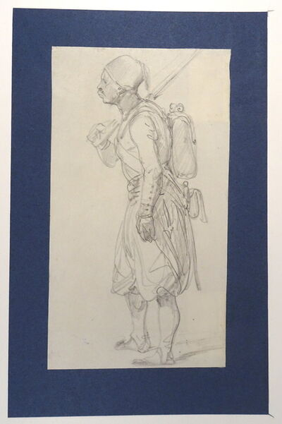 Horace Vernet, 'Un Zouave', Not dated