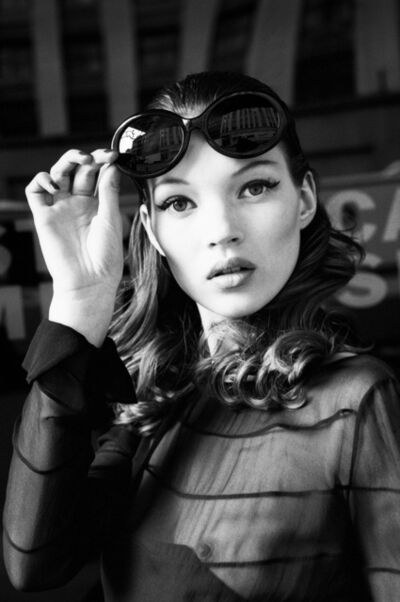 Stephanie Pfriender Stylander, 'Kate Moss (Eyes Wide Open), Harper's Bazaar Uomo, New York', 1992