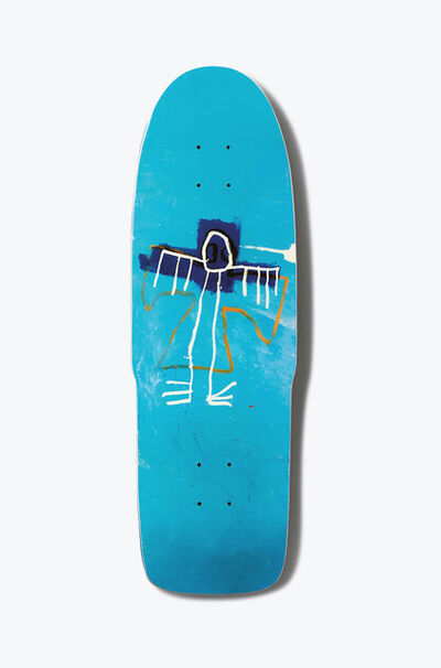 Jean-Michel Basquiat, 'Basquiat Angel Skateboard Deck (Basquiat skate deck)', 2018