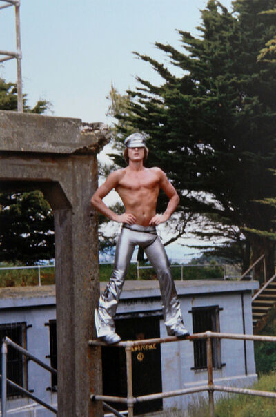 Peter Berlin, 'Self Portrait in Silver Pants', c. 1970s