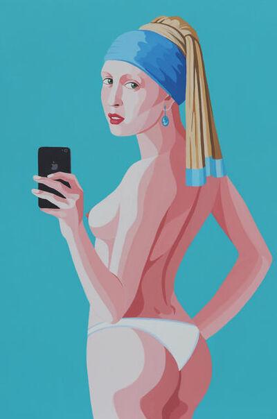 Giuseppe Veneziano, 'Selfie', 2019