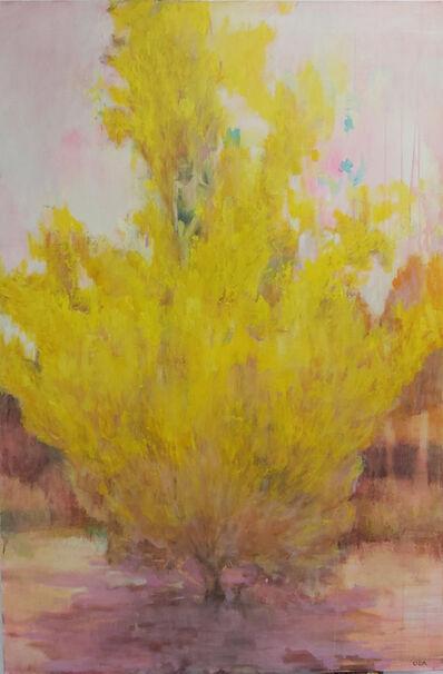 Oda Tungodden, 'Yellow Tree', 2020