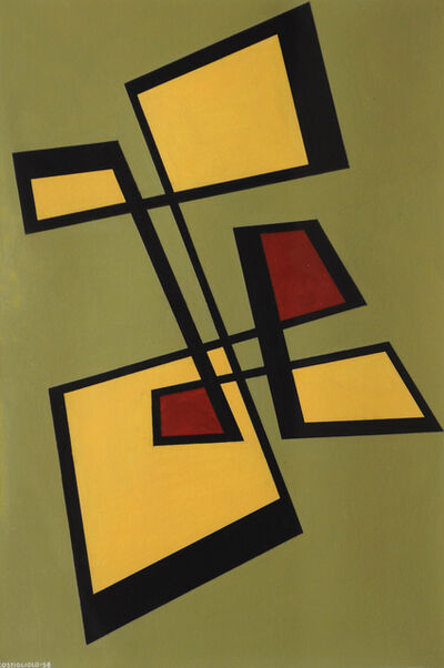 José Pedro Costigliolo, 'Untitled Composition', 1958