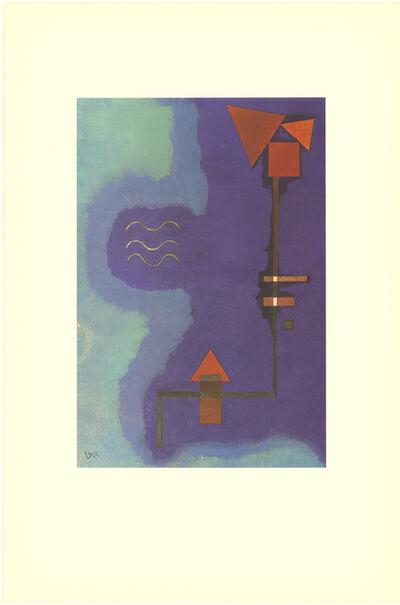 Wassily Kandinsky, 'Tirant Sur Le Violet', 1990