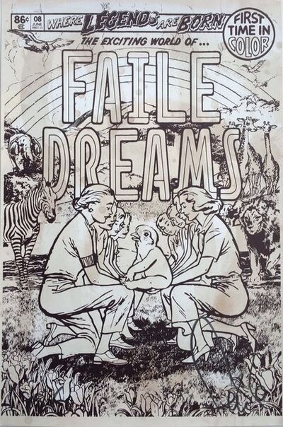 FAILE, 'Faile Dreams - Brown', 2008