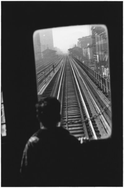 Elliott Erwitt, 'Third Avenue El., New York City', 1954