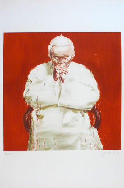 Yan Pei-Ming, 'The Pope', 2013