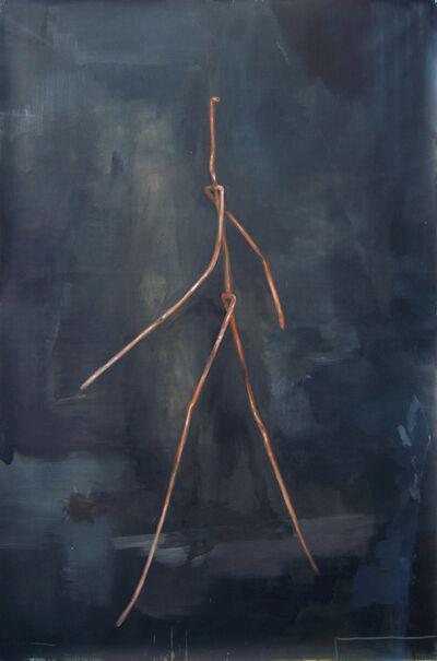 German Portal, 'Figura caminando', 2015