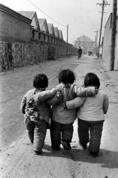 Marc Riboud, 'Three Chinese Girls, Beijing', 1957