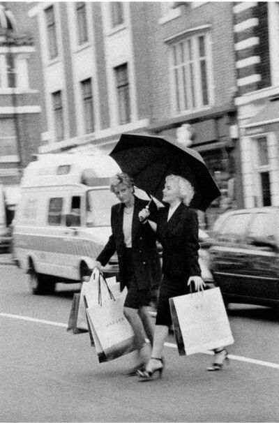 Alison Jackson, 'Diana and Marilyn Shopping', 2000