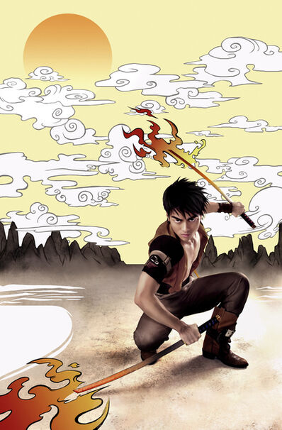 Anderson & Low, 'Manga Dreams, Kit The Swordsman', 2009