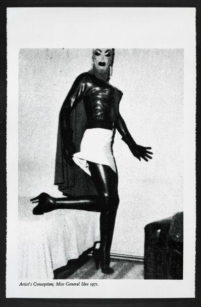 General Idea, 'Artist's Conception: Miss General Idea', 1971