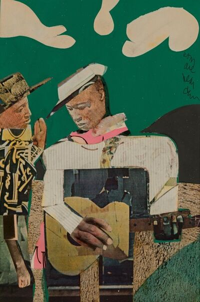 Romare Bearden, 'Guitar Executive', 1979