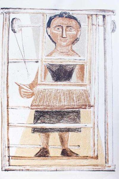 Massimo Campigli, 'The Weaver', 1952