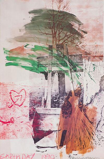 Robert Rauschenberg, 'Earth Day 1990', 1990