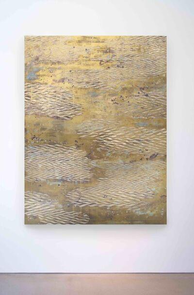 Nancy Lorenz, 'Lemon Gold Waves', 2016