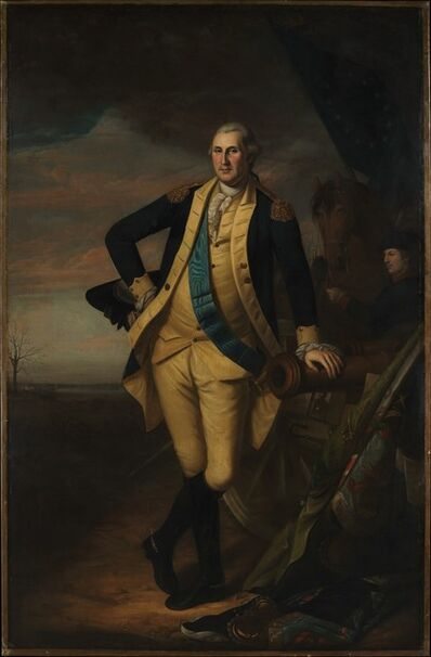 Charles Willson Peale, 'George Washington', ca. 1779–1781