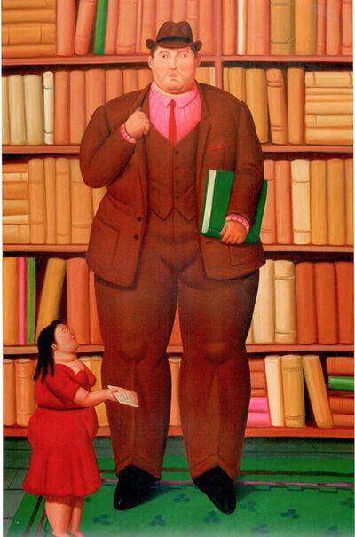 Fernando Botero, 'Lawyer and Secretary', 2010