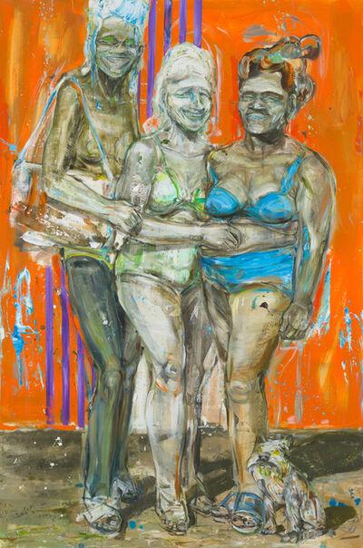 Undine Bandelin, 'Die drei Grazien (the three Graces)', 2019