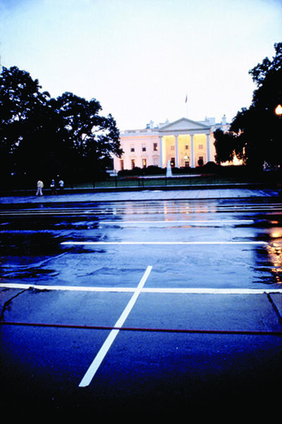 Lotty Rosenfeld, 'WASHINGTON D.C. 1982/ Casa Blanca', 1982