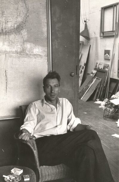 Nicolas de Staël, 'Portrait by Denise Colomb', 1954