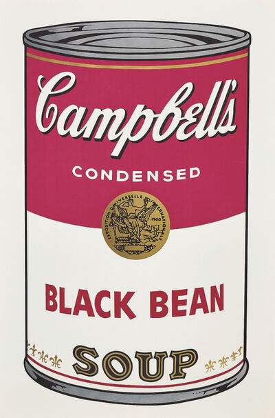 Andy Warhol, 'Black Bean, from Campbell's Soup I', 1968