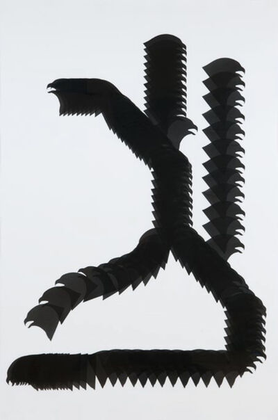 Carlos Amorales, 'Snake Glyph 1', 2010
