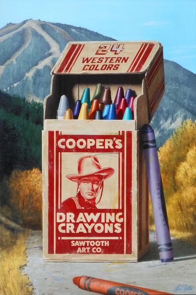 Ben Steele, 'Cooper's Crayons', 2019