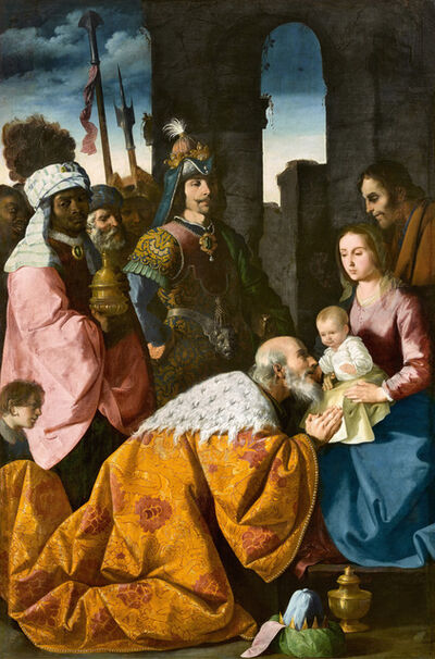Francisco de Zurbarán, 'Adoración de los Magos (The Adoration of the Magi)', ca. 1638-1639