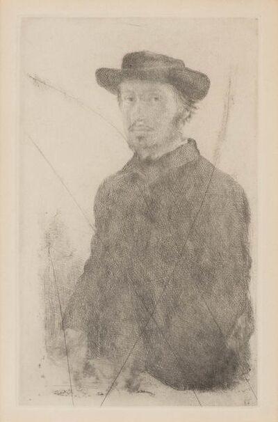 Edgar Degas, 'Autoportrait (Delteil 1; Adhèmar 13)', 1857