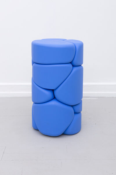 Soft Baroque, 'Puffy Brick - Blue', 2018